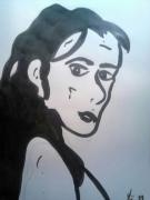 dessin personnages loic erquy pose profil : encre-2019-07-16-03