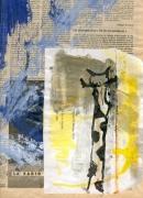 mixte animaux giraffe enveloppe journal acrylique : girafe