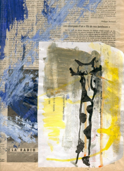 MIXTE giraffe enveloppe journal acrylique Animaux  - girafe