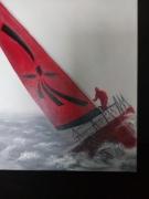 tableau sport regate bateau course bretagne : Régate