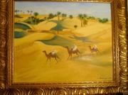 tableau paysages desert sahara tunisie : Le Grand Erg