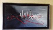 tableau abstrait : URBAN CITY