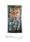 tableau fleurs foret vegetal fleurs vivant : NATURE VIVANTE