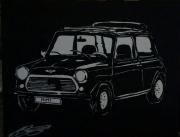 painting autres voiture mini austin : Mimi mini