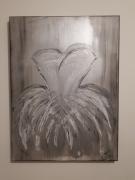 painting tutu gris argente : Tutu