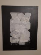 painting papier gris blanc : Papier