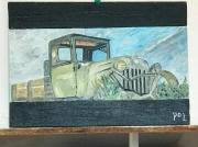 tableau autres epave voiture ancienne : Mini truck