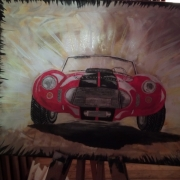 painting autres voiture de course voiture anciene vitesse : speed car