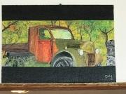 tableau autres epave voiture ancienne : Mini truck 2