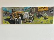 painting autres voiture ancienne bd : Dubonnet car