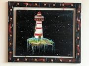 tableau marine phare espace : Phare de la motte