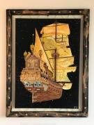 painting marine galion espace : Galerie maritime