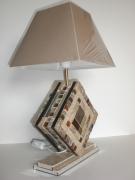 """artisanat dart autres mosaique lampe equilibre emaux : lampe à poser en mosaïque """"Equilibre"""""""