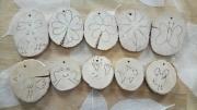 """bois marqueterie autres empreintes doigts peinture jeu : """"empreintes"""" fille"""
