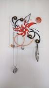 deco design fleurs porte bijoux tableau fleur tatouage : fleur design