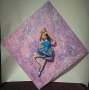 sculpture personnages danseuses : Virevolte