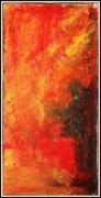 tableau abstrait : Explosion