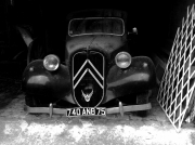 photo villes voiture citroen traction automobile : At'traction