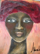 tableau personnages : femme Xhosa